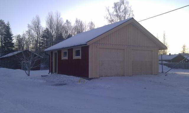 Vi bygger allt från Villor fritidshus mindre garage och industrihus.