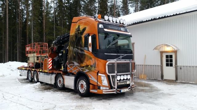 Kranbil Umeå